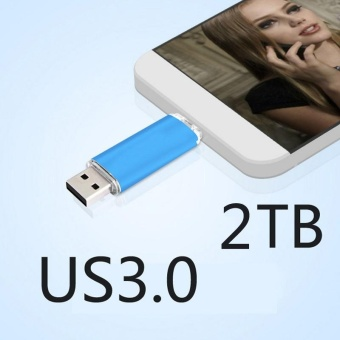 READY STOCK ~ OTG Android Dual-use USB Drive 2TB Flash DriveUSB3.0 High