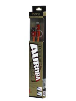 Remax J375 2 in 1 Aurora 1M USB Cable (Orange)