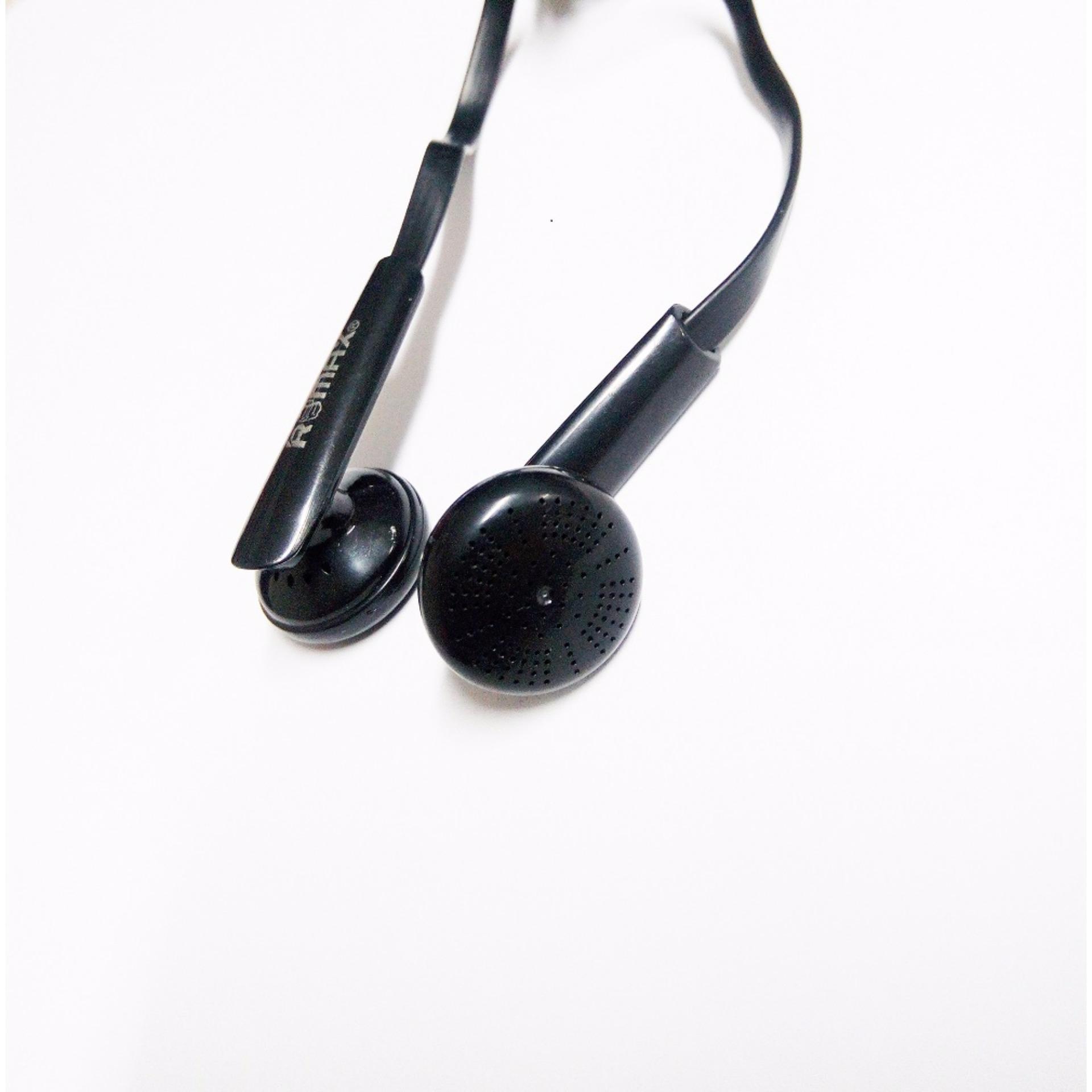 Remax RE-21 headphone Stereo Metallic Wire Earphone For SmartPhones,Computer Hands free BUY