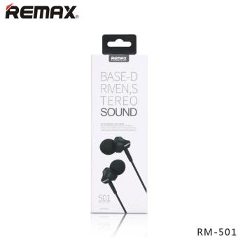 REMAX RM-501 In-ear Stereo Earphone Headphone With Mic ForSmartphone - 4