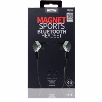 REMAX RM-S2 Magnet Sports Earbuds Stereo Bluetooth 4.1 Earphone (Black) - picture 2