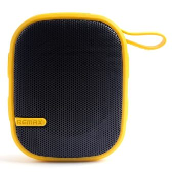 Remax X2 Portable Bluetooth Speaker (Yellow)
