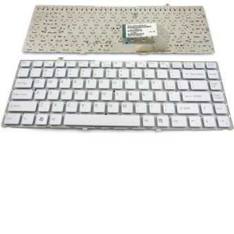Replacement Laptop Keyboard for Sony Vaio FW White