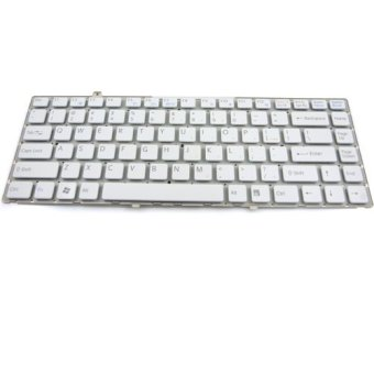 Replacement Laptop Keyboard for Sony Vaio FW White - picture 2