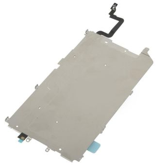 Replacement Part for Apple iPhone 6 Plus LCD Back Plate with HeatShield and Home Button Extension Flex Ribbon - Intl