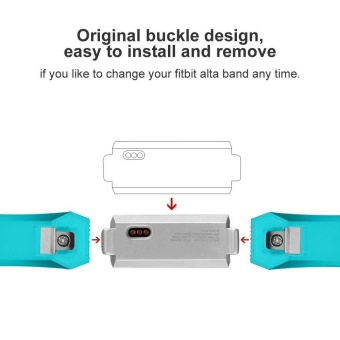 Replacement Wrist Band Silicone Strap For Fitbit Alta HR Smart Watch Bracelet - intl - 5
