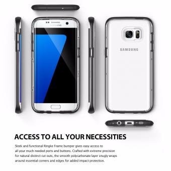 Ringke Frame TPU Bumper Case for Samsung Galaxy S7 Edge (OceanBlue) - 5