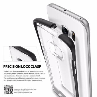 Ringke Frame TPU Bumper Case for Samsung Galaxy S7 Edge (OceanBlue) - 3