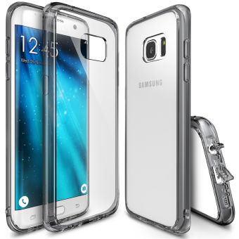 Ringke Fusion PC And TPU Back Cover Case For Samsung Galaxy S7 Edge (Smoke Black) - intl