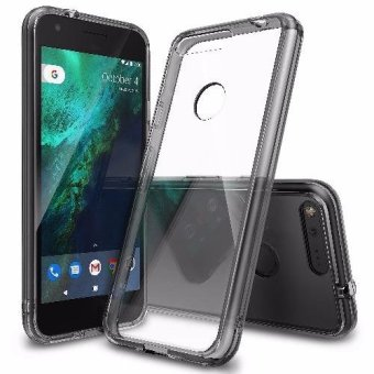 Ringke Fusion TPU Bumper Cover Case for Google Pixel (Smoke Black)