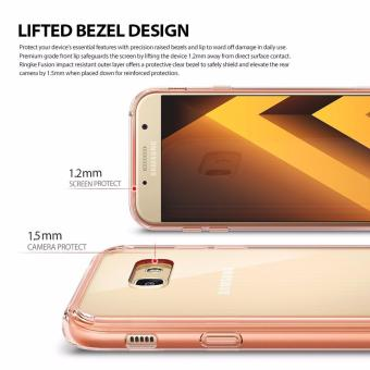 Ringke Fusion TPU Cover Case for Samsung Galaxy A5 2017 (Clear) - 2