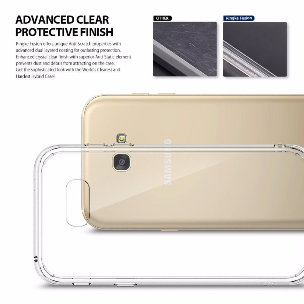 Ringke Fusion TPU Cover Case for Samsung Galaxy A7 2017 (Clear)