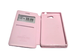 Roar Noble Series Leather Case for Sony Xperia M2 (Pink) - picture 2