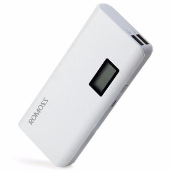 Romoss Sense 4 Plus 10400mAh LCD Display Power Bank (White) - 2