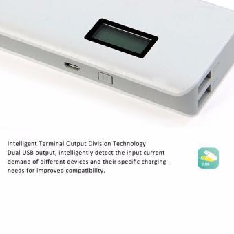 Romoss Sense 4 Plus 10400mAh LCD Display Power Bank (White) - 4