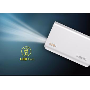 Romoss Solit 3 6000mAh Power Bank (White) - 4