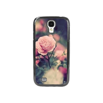 Rose Pattern Phone Case for Samsung Galaxy S4 (Multicolor)