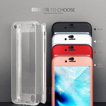 ... Roybens 360 Degree Full Body Protect Hard Slim Case Cover with Tempered Glass for iPhone 6