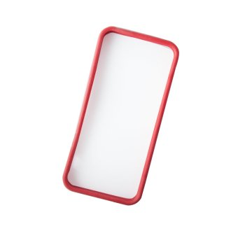 Rubber Bumper Case for iPhone 5/5S (Red) - 2