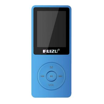 RuiZu X02 TFT Screen HiFi 8Gb Sports Music MP3 Player with FM VoiceRecorder 1.8 inch - intl - 3