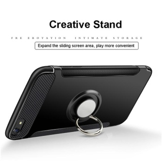 Rzants For OPPO F3 Plus 360 Degrees Rotation with Ring Car Holder Case Cover - intl - 5