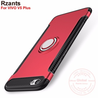 Rzants For VIVO V5 Plus 360 Degrees Rotation with Ring Car HolderCase Cover - intl