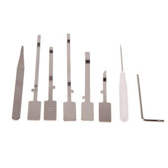 S & F 8 Pieces Unlock Open Opening Tool Repair Disassemble Kit Set for XBOX 360 (Intl)