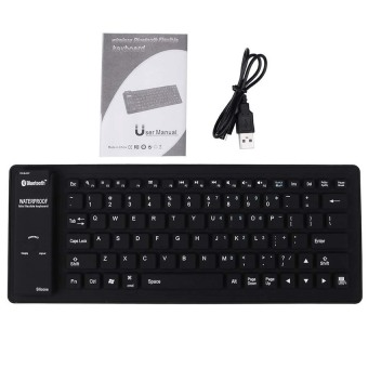 S & F B84 Silicone Bluetooth Keyboard (Intl)