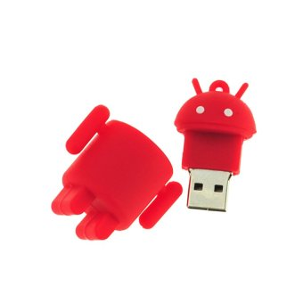 S & F Robot 32GB USB Flash Drives Computer Pen Drives (Red) (Intl) - picture 2