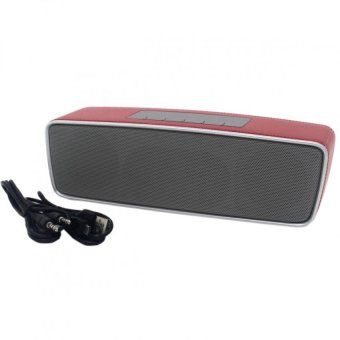 S2025 Multi-function Portable Bluetooth Speaker (Red) - picture 2