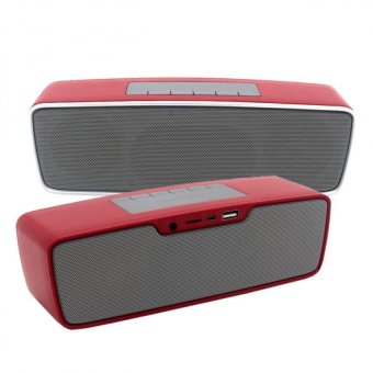 S2025 Multi-function Portable Bluetooth Speaker (Red)