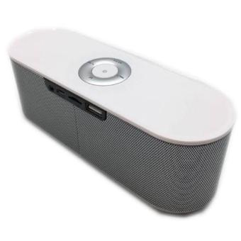S207 Portable Bluetooth Dual Speaker (Silver) - 2
