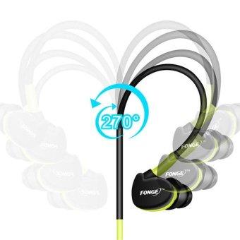 S500 3.5mm Wired Earphone Noice Cancelling In Ear Headset StereoHeadsets with Mic Waterproof Sweatproof Sport Earphones - intl - 3