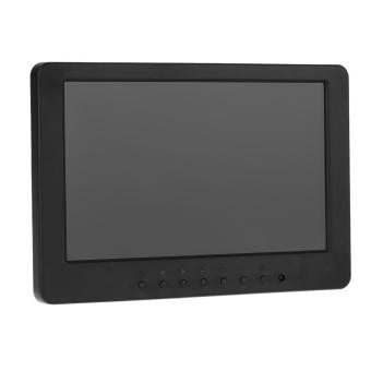 S702 7 inch TFT LCD 16:9 Color Monitor Screen 1024 * 600 BNC VGA Video Audio for PC CCTV Security VCD DVD US Plug - intl