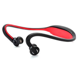 S9 Bluetooth V2.0+EDR Back-Hang Handsfree Stereo Headset Red
