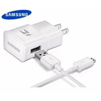 Samsung Adaptive Fast Rapid Charger For Samsung Galaxy WithPackaging & Sticker (WHITE) Price Philippines