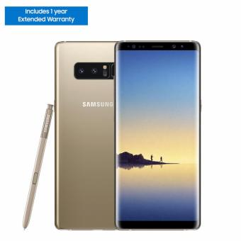 Samsung Galaxy Note8 64GB (Maple Gold) with 1 Year Extended Warranty