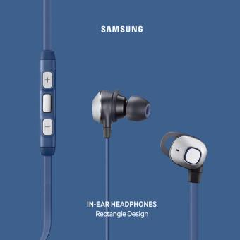Samsung Rectangular In-ear Headphones EO-IA51 (Blue) - 5