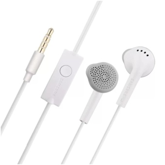 Samsung S5830 Universal Headset with In-Line Multi-FunctionAnswer/Call Button (White) - 2
