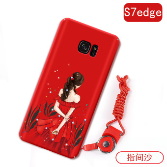 Samsung S7/s7edge Japan and South Korea all-inclusive drop-resistant matte hard case phone case