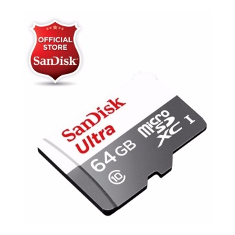 Sandisk Ultra Micro SDXC 64GB Class 10 UHS I SDSQUNS 064G Memory Card