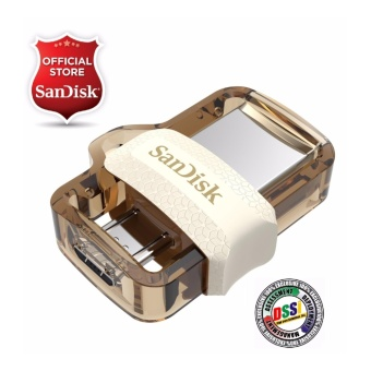 SanDisk Ultra SDDD3-064G 64GB OTG / Dual USB Drive M3.0 (Gold Edition) EXCLUSIVE MODEL