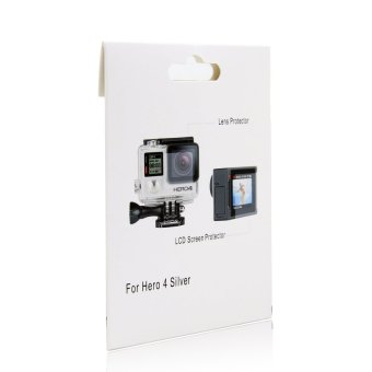 Screen Pro LCD Screen and Housing Lens Protector for Gopro Hero4Silver Edition - 2
