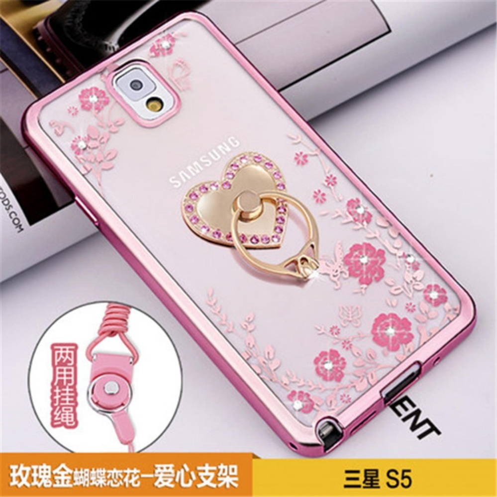 Secret Garden Plating TPU phone case For Samsung Galaxy S5 (i9600)