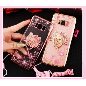 Secret Garden Plating TPU phone case For Samsung Galaxy S8 Plus(Gold+ .