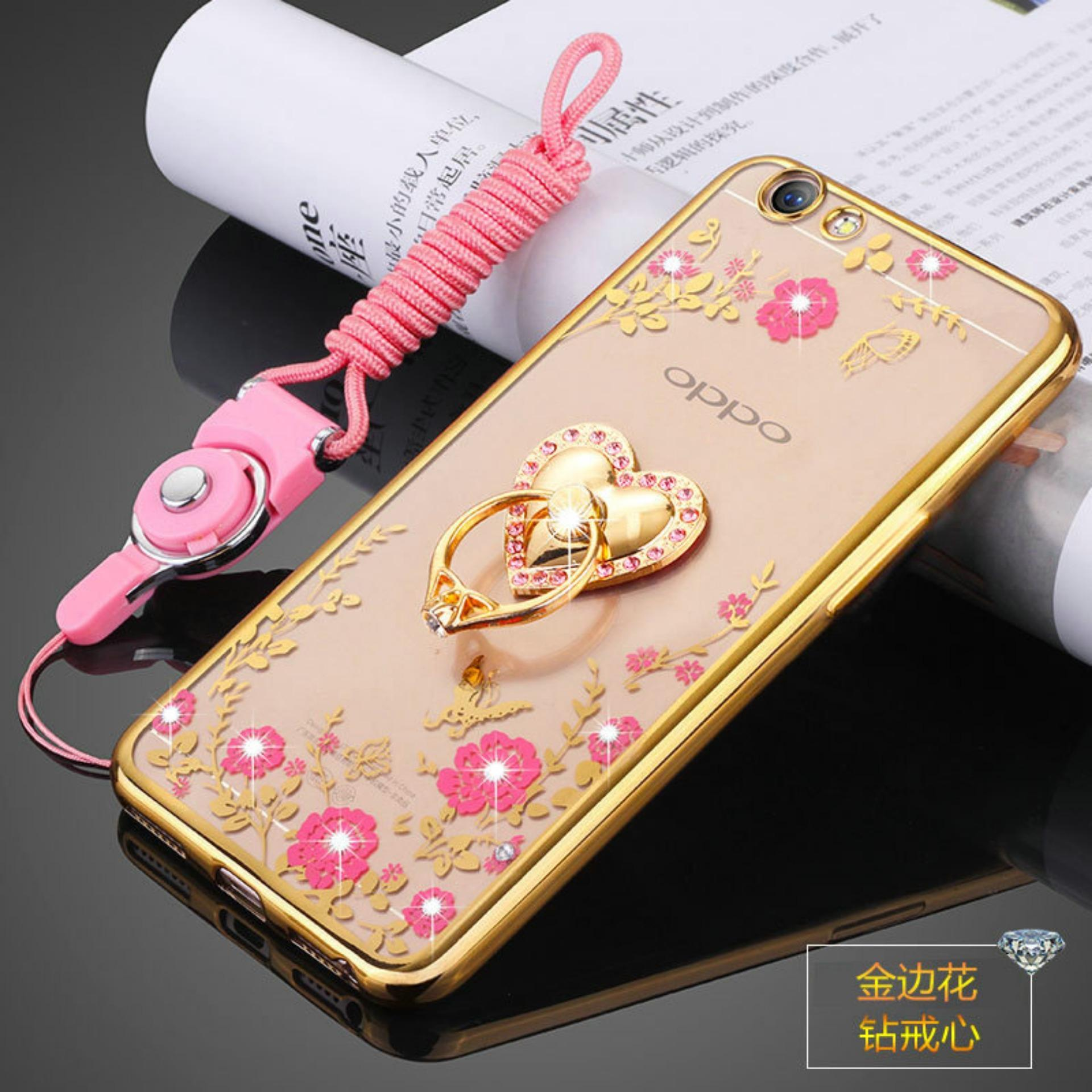 Secret Garden TPU Back Case Cover For Oppo F1s Oppo A59(Lovegold) - intl