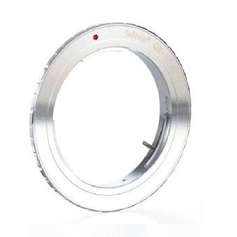 Selens OM-EOS Olympus OM Series Lens to Canon EOS Camera EF Mount Adapter Ring