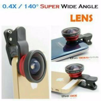 SELFIE CAM LENS removable wide angle lens (random color) - 2