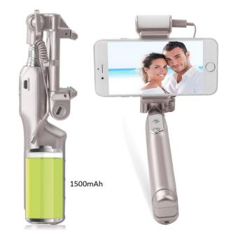 Selfie Stick,Bluetooth Selfie Stick with 360 Degree Led Fill Light and Mirror, for iPhones, Samsung Galaxy s7 edge/s4 Android System Phones - intl - 3