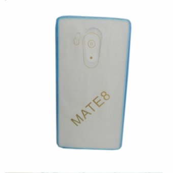 Senior TPU Jelly Case Cover for Huawei Mate 8 (Blue)